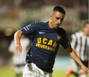 """Entrevista. 'Piojo', jugador del UCAM: """"Vamos paso a paso, a pensar en el Marbella"""""""