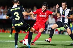 Copa del Rey - Il Siviglia passa facile. Cartagena battuto 3-0