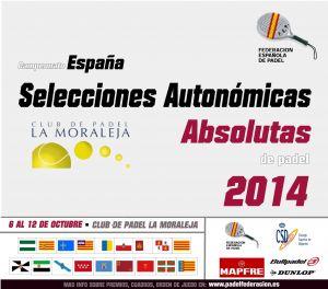 Las mejores palas nacionales se dan cita en el Campeonato de Selecciones Autonómicas Absolutas