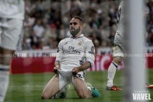 """Dani Carvajal: """"El árbitro no ha estado bien"""""""