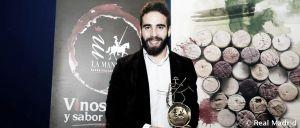 "Carvajal recibió el premio ""Jóvenes 2014 D. O. La Mancha"""