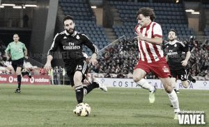 Carvajal cumple 50 partidos en la Liga BBVA