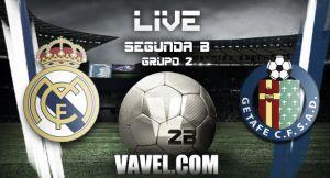 Real Madrid Castilla - Getafe B en directo online