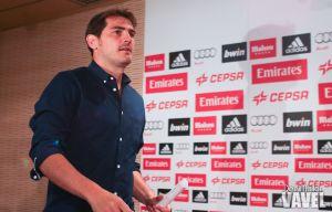 Segunda rueda de prensa de Iker Casillas y Florentino Pérez de despedida del Real Madrid