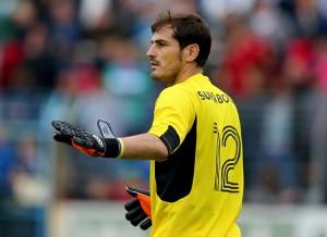Iker Casillas recuperará la titularidad frente a Sporting