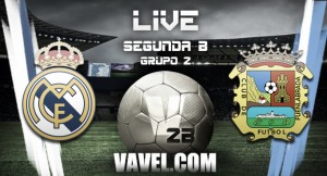 Fuenlabrada vs Real Madrid Castilla en vivo y en directo online en Segunda División B (1-1)