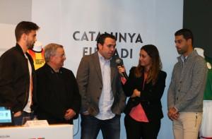 Sergio González acude a la presentación delCatalunya -Euskadi