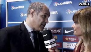 """Zubizarreta: """"Estamos trabajando en la renovación de Iniesta"""""""