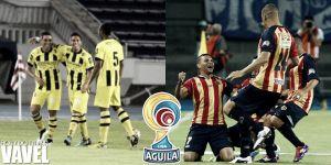 Alianza vs Águilas, Liga Águila 2015 en vivo y en directo online (1-0)