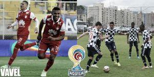 Santa Fe vs Boyacá Chicó, Liga Águila 2015 en vivo y en directo online (1-0)