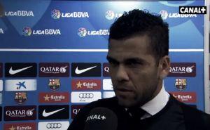 """Dani Alves: """"Cuando tengamos la posibilidad de jugar como hemos jugado siempre, lo haremos"""""""