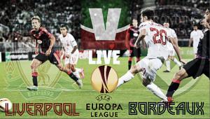 Partita Liverpool - Bordeaux in diretta, Europa League 2015/16 live (21.05)