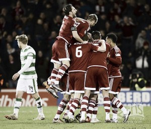 Aberdeen 2-1 Celtic: Dandy Dons saunter on