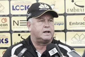 """Roberto Cavalo elogia atitude do Criciúma após vitória sobre Brasil : """"Não se abateu, foi valente"""""""