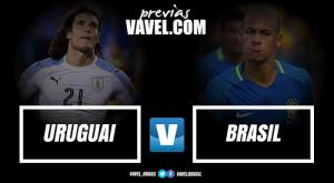Sem Gabriel Jesus e Suárez, Brasil e Uruguai fazem confronto valendo vaga na Copa do Mundo