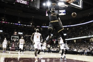 Cleveland Cavaliers open season with victory over New York Knicks
