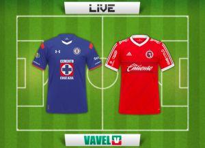Resultado Cruz Azul vs Xolos en vivo y directo en la Liga MX 2015 (2-1)