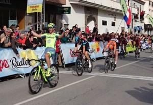 Oscar Gatto y Tinkoff vuelan en Andalucía