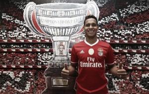 Novo reforço do Benfica, brasileiro Filipe Augusto promete dedicação e empenho