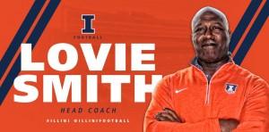 Lovie Smith Announced As The Fighting Illini Head Football Coach