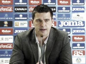 """Contra: """"Soy entrenador del Getafe, no hay nada firmado"""""""