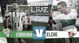 Resultado Córdoba CF - Elche en la Liga Adelante (3-1)