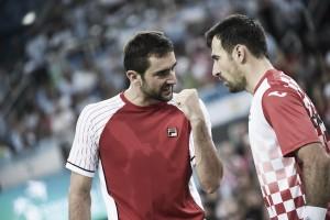 Davis Cup, il doppio manda avanti la Croazia sull'Argentina