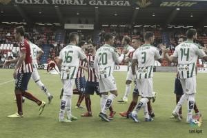 Los datos del Córdoba CF - CD Lugo: mejorar en El Arcángel
