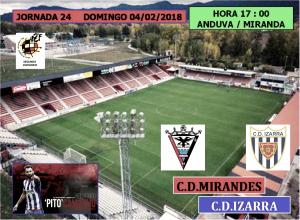 Previa: CD Mirandés - CD Izarra: Tres puntos para acercarse al líder