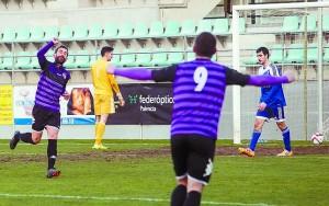 La cantera rojilla: el Mirandés B sufre una goleada en Palencia