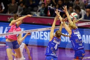 Volley F, Coppa Italia: Piacenza batte 3-1 Montichiari e vola in finale