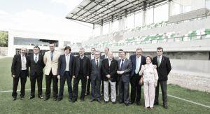 Villar, presente en la inauguración de las instalaciones de la Ciudad Deportiva
