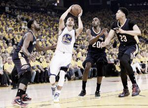 Golden State Warriors vence New Orleans Pelicans e amplia vantagem na série