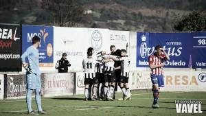 El fortín de Les Caleyes atrapa al Sporting B