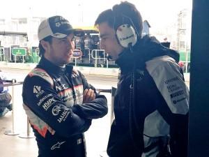 """Sergio Pérez: """"La degradación será un factor clave en el resultado de la carrera"""""""