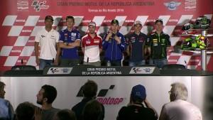 MotoGp - Argentina: le parole di Lorenzo, Rossi e Marquez