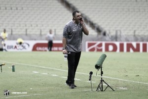 """Chamusca valoriza empate no fim contra Figuerense: """"Esse ponto pode ser fundamental"""""""