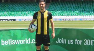 """Álvaro Cejudo: """"Me formé aquí y llego en mi madurez futbolística"""""""