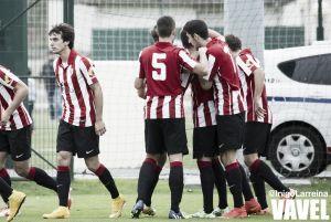 El Bilbao Athletic no aprovecha los goles de ventaja