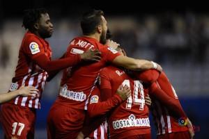 Lorca - Ud Almería: puntuaciones Almería; jornada 25 de La Liga 1 2 3