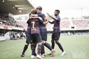 Youth League: el Barça gana al PSV en un partido gris