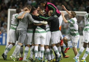 Sensational Celtic march to the groups stages