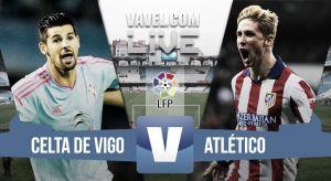 Resultado Celta de Vigo - Atlético de Madrid (2-0)
