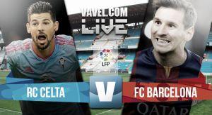 Resultado Celta de Vigo vs Barcelona 2015 (0-1)