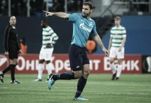 Parabéns! Aniversariante Ivanovic brilha em virada do Zenit sobre Celtic na Europa League
