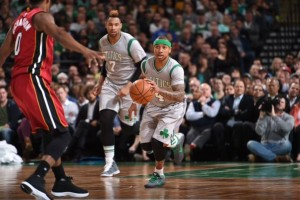 Los Celtics remontan un partido increíble ante los Heat