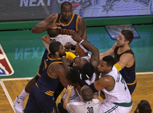 J.R. Smith And Kelly Olynyk Suspended, Kendrick Perkins Fined