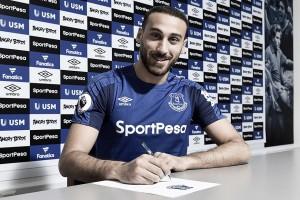 Cenk Tosun, nuevo jugador del Everton