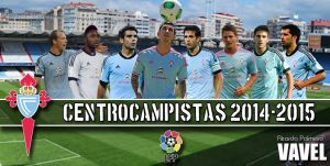 Real Club Celta 2014/2015: centro del campo
