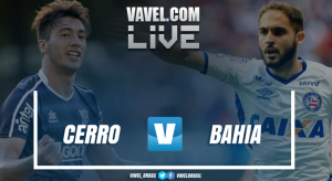Resultado de Cerro-URU 1 x 1 Bahia pela Copa Sul-americana